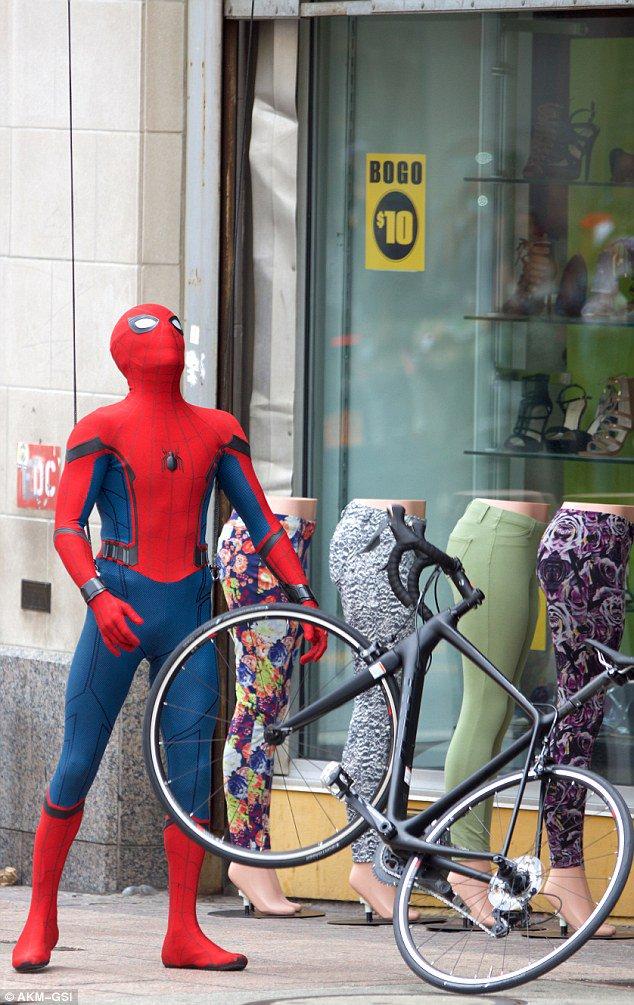 Nuevas fotos del rodaje de Spider-Man: Homecoming