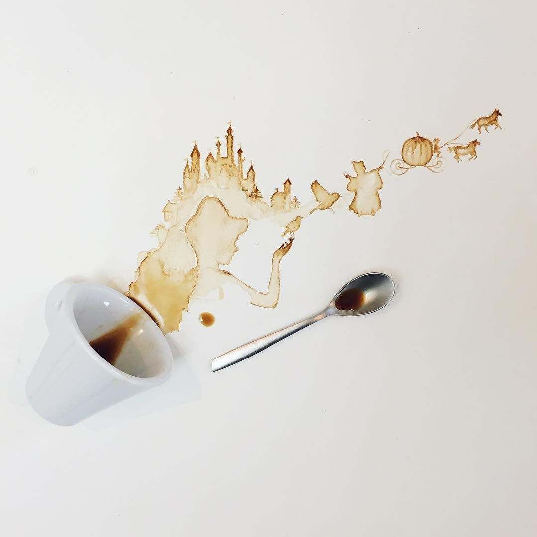 03-Cinderella-Giulia-Bernardelli-Coffee-Cup-Paintings-or-Drawings-www-designstack-co