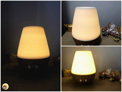 Utama Spice Sonoma Yi aromatherapy diffuser lamp review