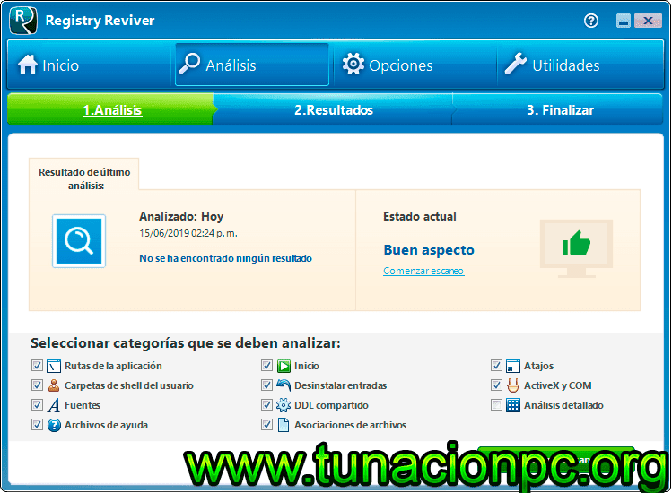 ReviverSoft Registry Reviver full español