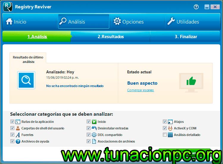 ReviverSoft Registry Reviver full español