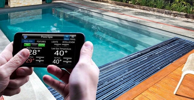 how to set up swimming pool automation