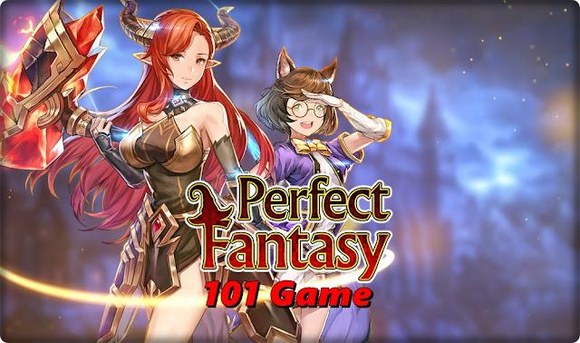 Idle игра с аниме графикой - Perfect Fantasy