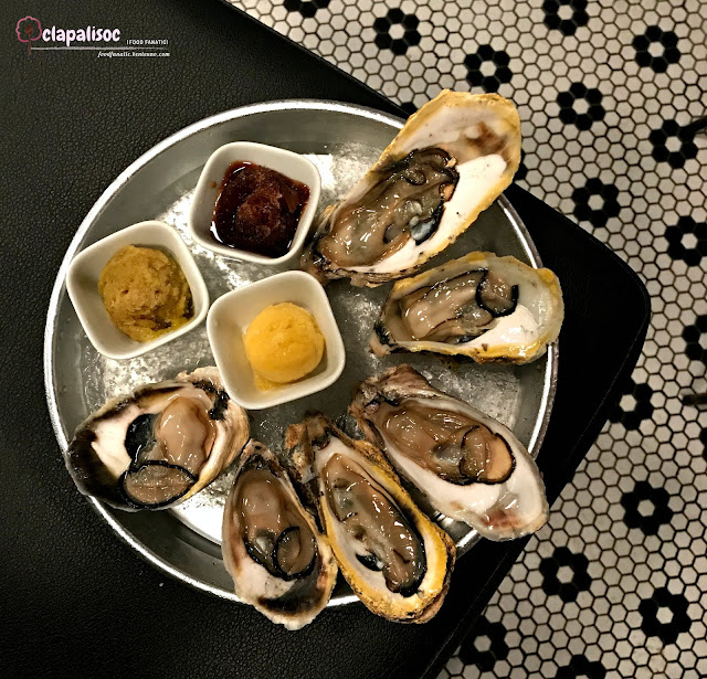 Aklan Oysters from Hook by Todd English