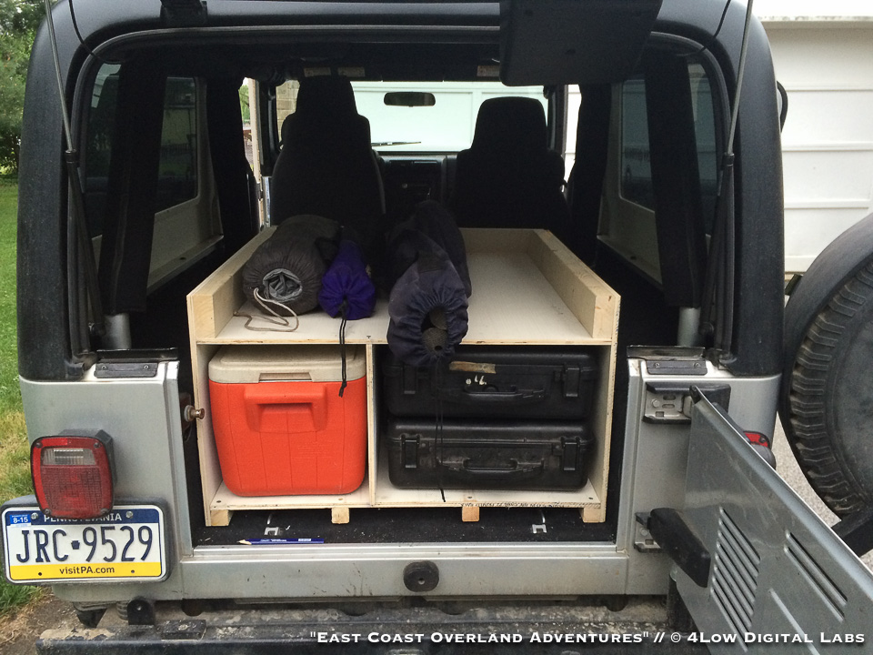 East Coast Overland Adventures Diy Storage Boxes