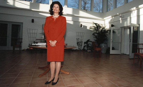 Stiftelsen Silviahemmet was founded by Queen Silvia of Sweden on Valentine's Day in 1996