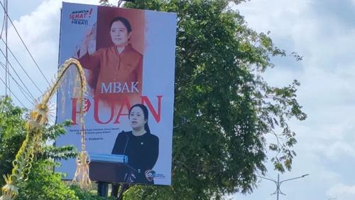 Percuma Pasang Baliho di Mana-mana, Pemilih Puan Diyakini Tetap Sedikit!
