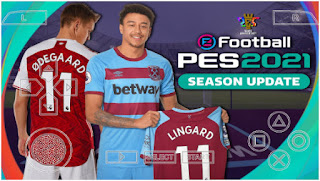 Download PES 2021 PPSSPP New Update Chelito V8.1 Full Last Transfer (February) & Realistic face Graphics