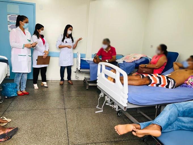 Profissionais realizam trabalhos de educação em saúde nas unidades HAPA e Maternidade de Chapadinha