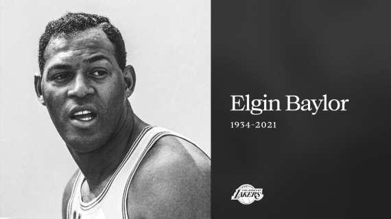 Se ne va Elgin Baylor: leggenda NBA dei Los Angeles Lakers