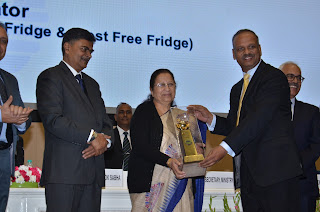 "Godrej Refrigerator adjudged ""Appliance of the Year"" for the 2nd year in a row, by Bureau of energy efficiency, Govt of India"