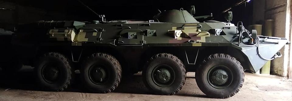 КБТЗ передав армійцям партію відремонтованих БТР-80