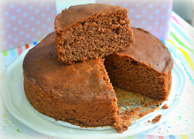 bizcocho de chocolate para hacer cake pops