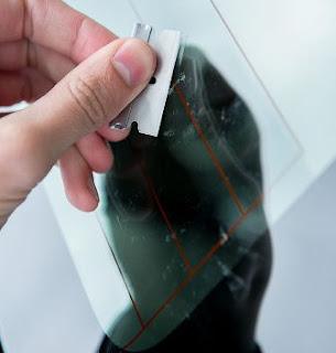 TIPS Gampang Membuang stiker / Skotlet di Kaca Mobil