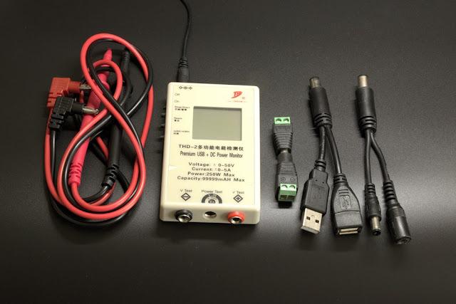Miernik PortaPow Premium USB + DC Power Monitor
