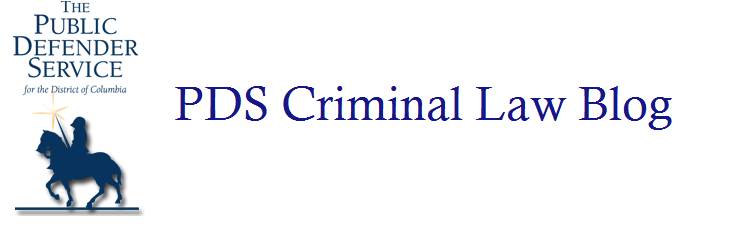 PDS Criminal Law Blog
