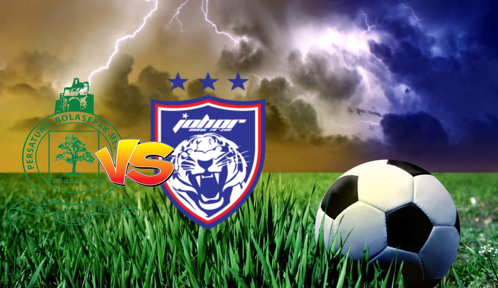 Live Streaming Melaka United vs JDT FC Liga Super 10 Oktober 2020
