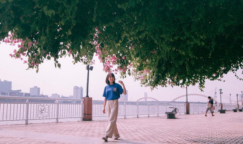 Đường đi bộ ven sông đẹp nhất Đà Nẵng