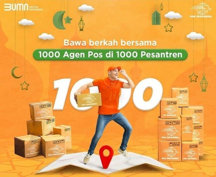 Pos Indonesia Gandeng Pesantren Jadi Agen Pos Begini Persyaratannya Bisnis Kurir