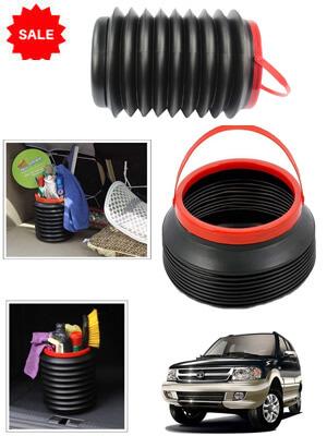 Foldable Bucket for Car  Multi Storage Organizer