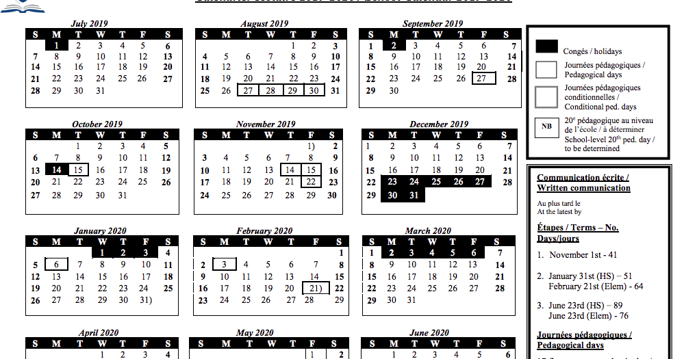 Mrs. Anna Romanini's Kindergarten: School Board Calendar