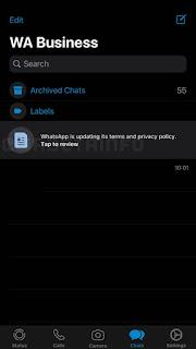 Whatsapp Terms update