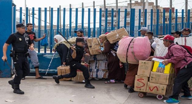 """لجنة برلمانية تقف على الاختلالات التي يعانيها المعبر الحدودي """"بني انصار"""""""