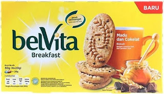 Biskuit Belvita Breakfast dari Mondelez International