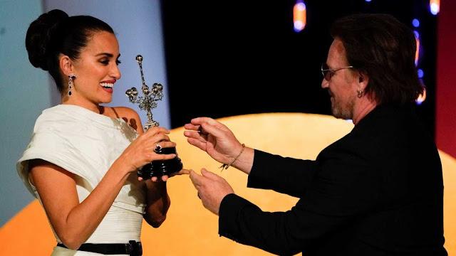 Penélope Cruz recoge el tercer Premio Donostia y deja un discurso para el recuerdo