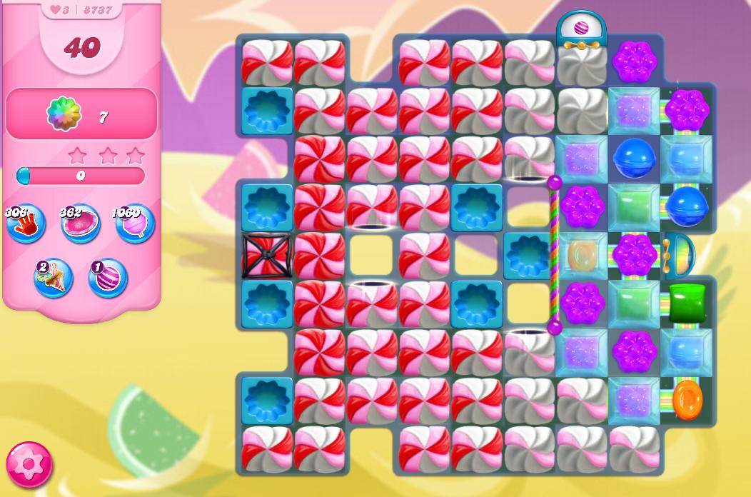 Candy Crush Saga level 8737