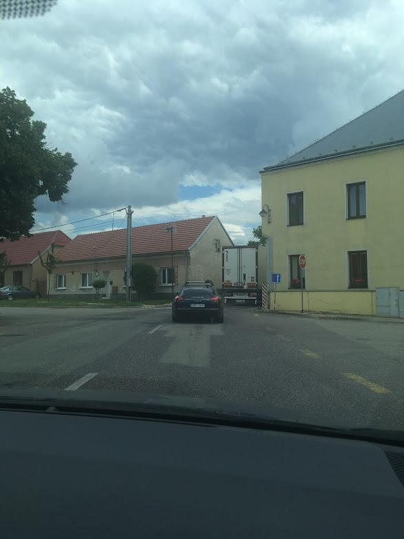 hlavní tah Brno - Vídeň
