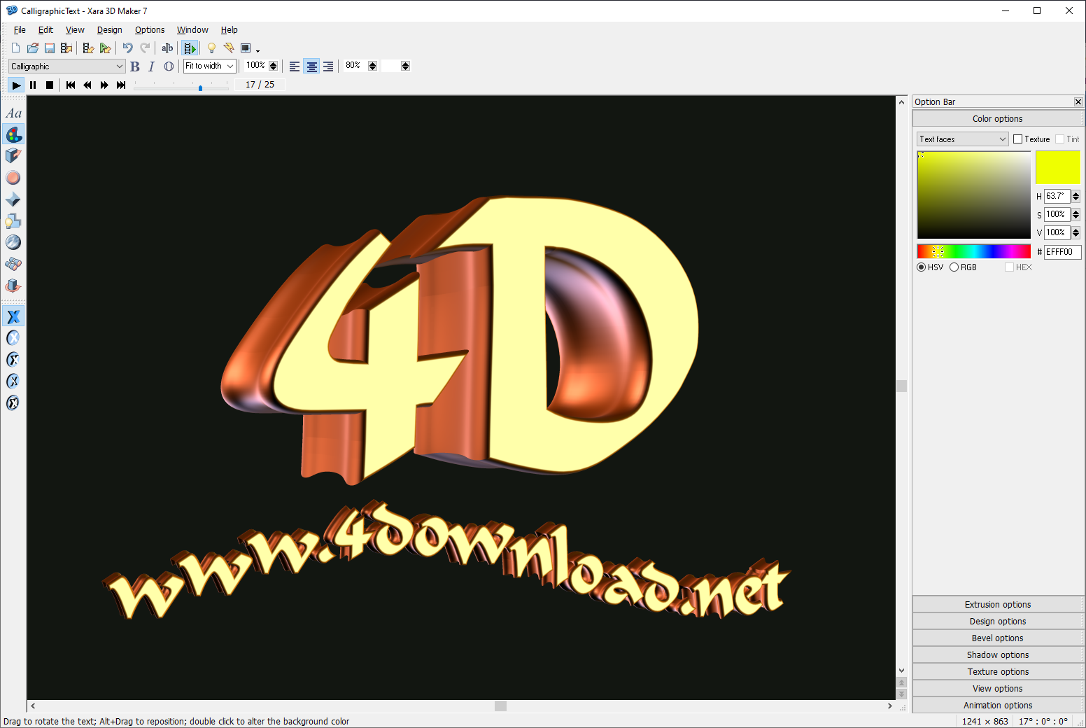 Xara 3d Maker 7 V7 0 0 415 Full Version 4download