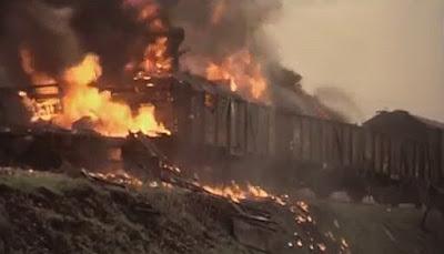 wysadzenie pociągu