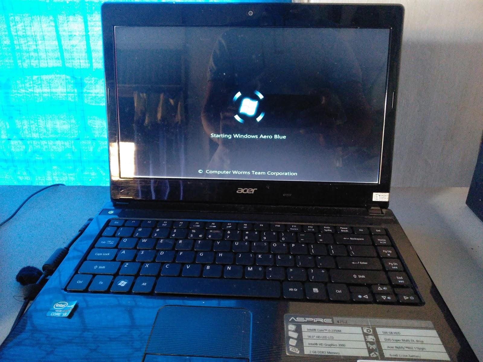 Laptop Yang Bootlop System Windows Stuck di Logo