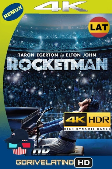 Rocketman (2019) BDRemux 4K HDR Latino-Ingles MKV