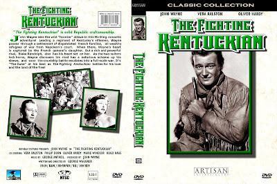 Carátula dvd: El luchador de Kentucky 1949