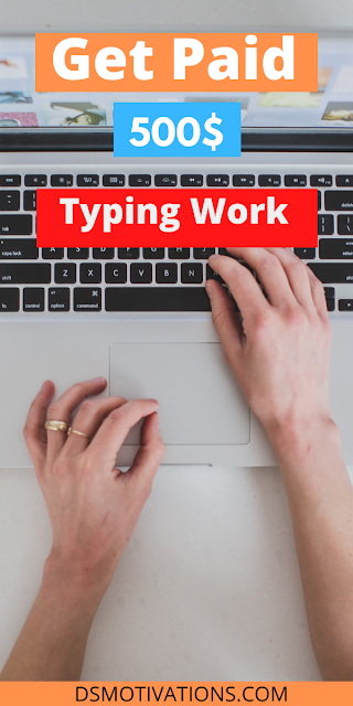 How To Earn Money By Typing