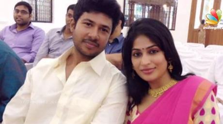 Actress Vijayalakshmi blessed with baby boy