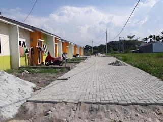 Contoh Rumah Subsidi Yang Sudah Dibangun Developer Lokasi Di Batang Kuis