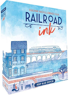RailRoad Ink board game