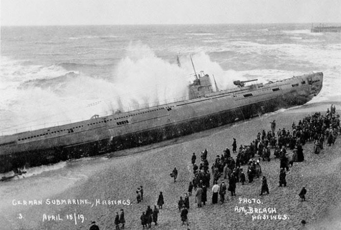 Thousands of people flocked to the seafront to catch a glimpse of the boat.