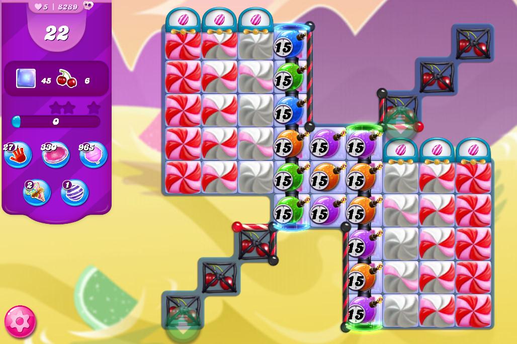Candy Crush Saga level 8289