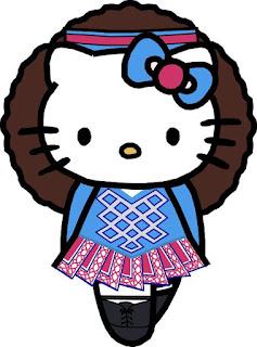 Dulce Clipart de Hello Kitty.