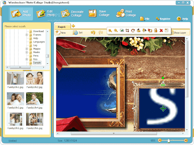 Wondershare iCollage for Windows & Mac, Giveaway, Windows, Windows 7, Mac, Graphics