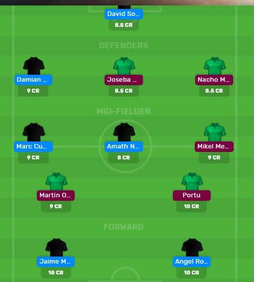 GET vs RS Fantasy Dream11 Football Team Laliga 2019/20