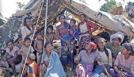 Rohingya Kian Tersingkir