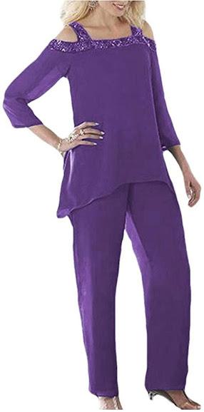 Best Purple Mother of The Bride Dresses