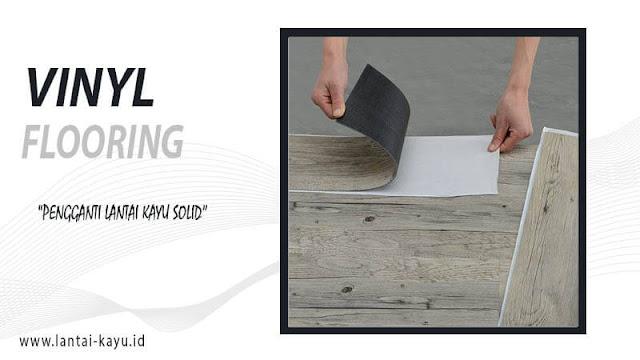 lantai vinyl motif kayu spesifikasi