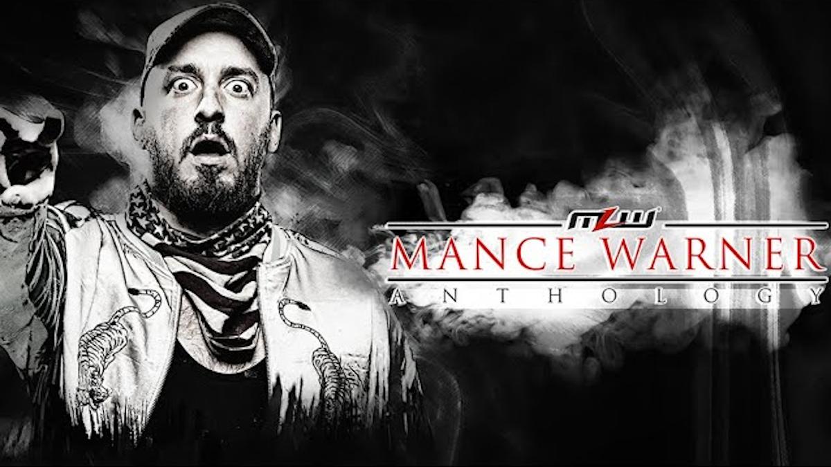 AEW estaria muito interessada em Mance Warner