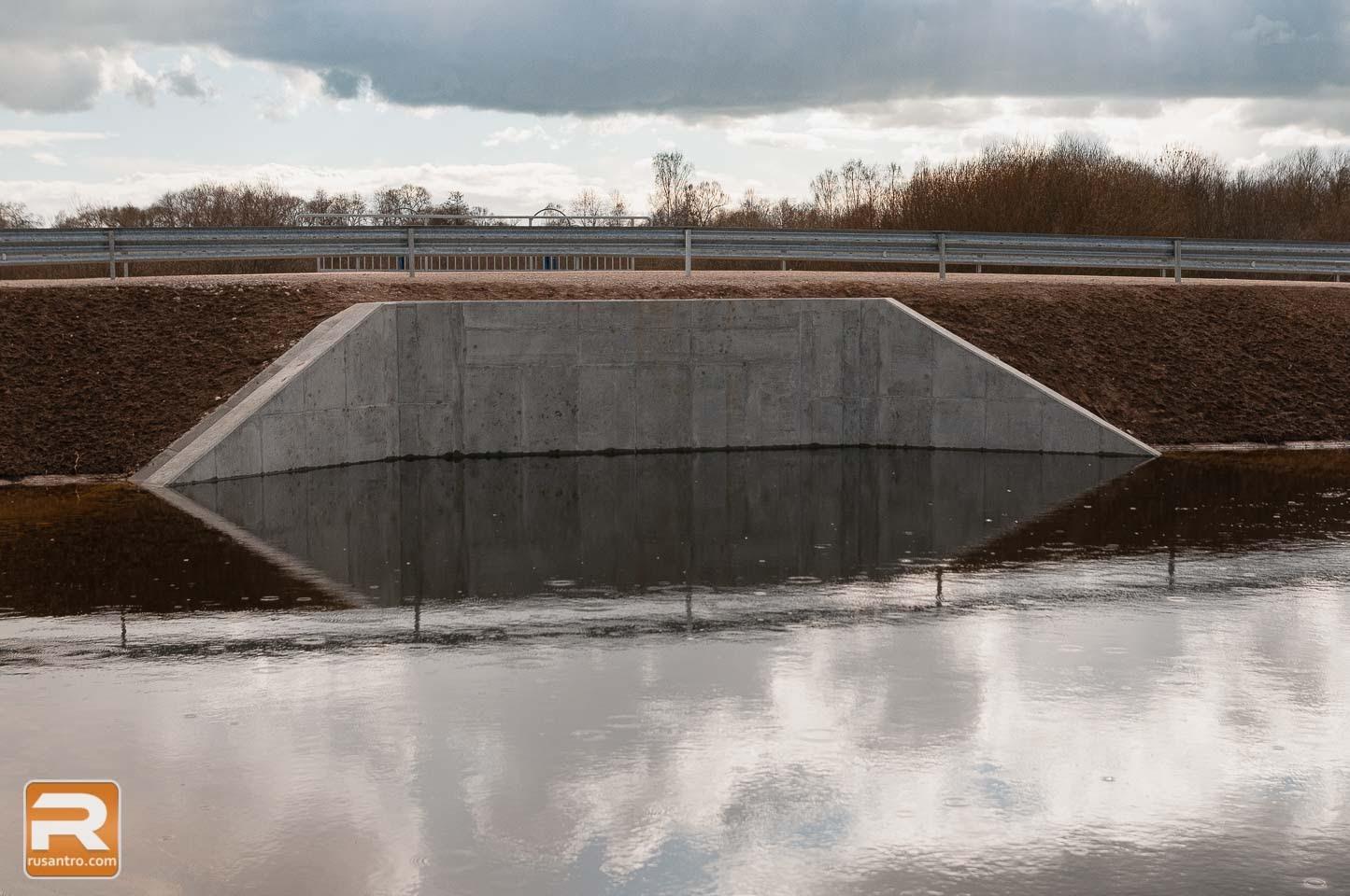 Applūdusi tilta daļa